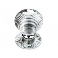 Beehive Door Knob - Nickel - Standard - Mortice & Rim