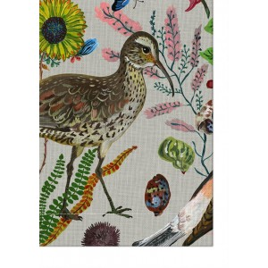Birds in the Dunes Tablecloth - by Nathalie Lété - 1.5 x 2 metres