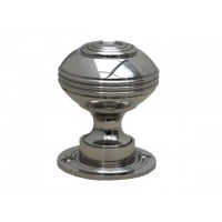 Bloxwich Door Knob - Nickel - Standard - Mortice & Rim