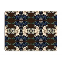 Patch NYC Table Mat- Blue Cluster