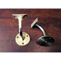 Hand Rail Bracket - Solid Brass
