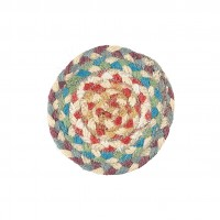 Braided coasters - Carnival - Set/6