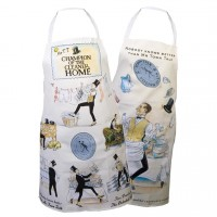 Housekeepers' Apron - Mr Town Talk - Champion of the Cleaner Home