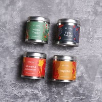 Scented Christmas Tin Candle