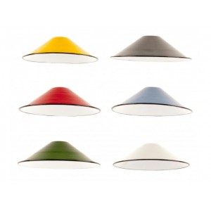 Enamel Coolie Shade - NEW STYLE - E27 & B22 Fitting