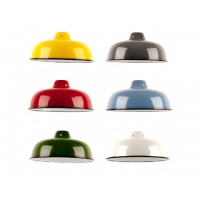 Enamel Dome Shade - NEW STYLE - B22 & E27 Fiiting