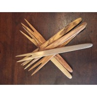 Olive Wood - Pickle Fork