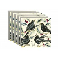 Anna Wright - Four Calling Birds Christmas Card Pack
