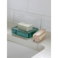 Wells Soap Dish - 100% Recycled Glass