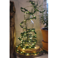 Greenery - 3.5m - 60 warm white LEDs - Battery Operated - Indoor & Outdoor use