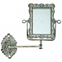 Dainty Hinged Wall Mounted Mirror
