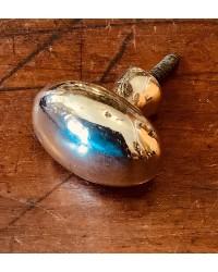 Polished Bronze - Cupboard Knob - Oval