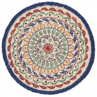 Braided Place Mats - Kantha - Set/6
