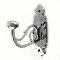 Classic Robe Hook - Chrome Plate