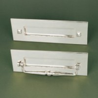 Traditional Letterplate - Without Clapper- Polished Nickel