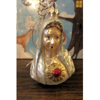 Mary Bust Ornament