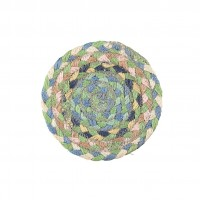 Braided Coasters - Mint - Set/6