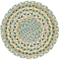 Braided Place Mats - Mint - Set/6