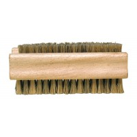 Wooden Nail Brush - Soft Light Bristles