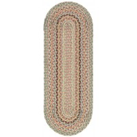 Braided Table Runner - Pampas