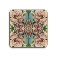 Patch NYC Coaster - Peonies