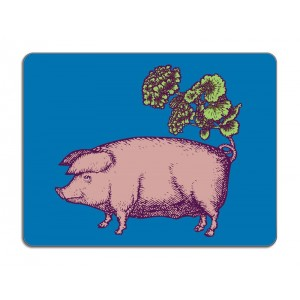 Puddin'Head Table Mat - Suidae - Pig