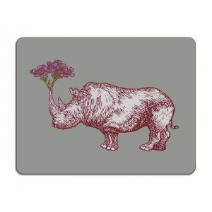 Puddin'Head Table Mat - Rhino