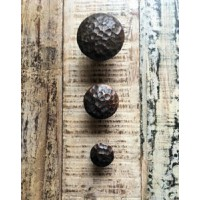 Cupboard Knob - Hand Forged 'Roman' - 30mm - Discontinued