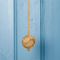 Natural Jute Light Pull - Ball