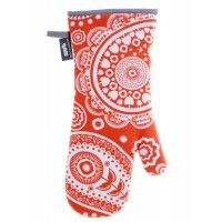 Mini Moderns - Paisley Crescent Tangerine Dream Oven Gauntlet