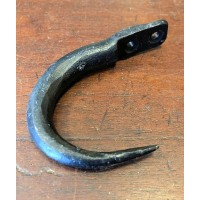 J Hook - Small - Hand Forged - Black Iron