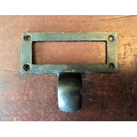 Drawer Pull - Card Frame - Iron