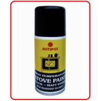 'Hotspot' Stove Paint - Matt Black - 150ml