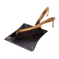 Hand brush & Dustpan Set - Vintage - Oak