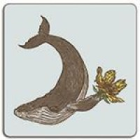 Puddin'Head Placemat - Whale